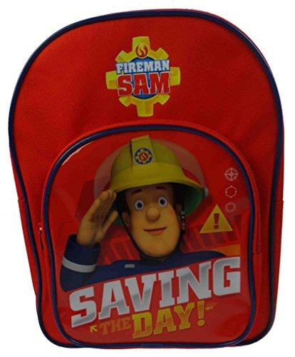 Fireman Sam Sac à dos enfants, Red (Bleu) - SAM-1156
