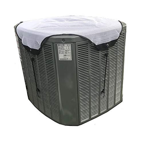 YELAIYEHAO AC Unit Cover - Conditioner Winter Wasserdicht Top Klimaanlage Laubschutz Klimaanlage Abdeckung 28x28 weiß -
