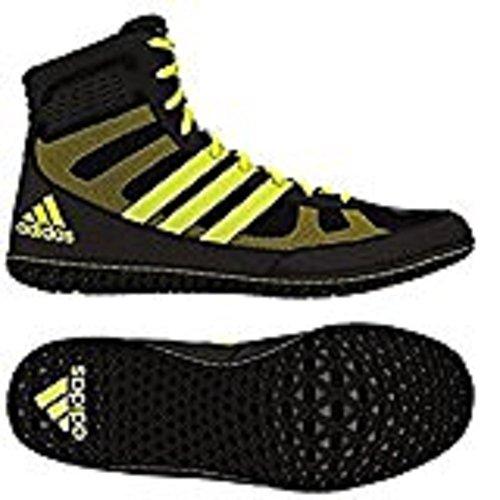 Adidas Ace 16.1 Primeknit Fg / ag morsetti di calcio (solare Verde, shock pink), 12,0 D (m) Us, Sola Black/Solar Yellow