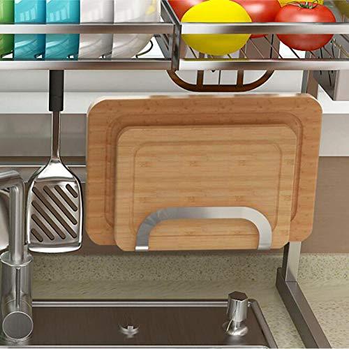 LRZLZY Edelstahl-Küchengestelle Gestelle Gestelle Abtropfgestelle Spülengestelle Geschirrgestelle (größe : B1)