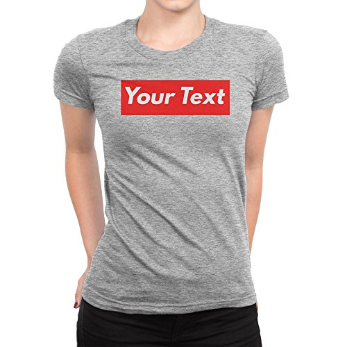 Personalised Supreme Inspired Add Your TextFemme T-shirt XXL