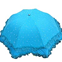 Anti UV Sun Umbrella Mushroom Princess Umbrella Arched Umbrella,01