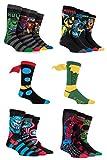 Herren 16 Paar Marvel Avengers Assemble frisch Sockenschublade Kollektion Socken - Sortiert 39-45