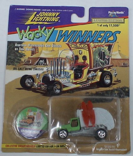 Johnny Lightning Wacky Winners DIE Cast CAR Garbage Truck by Johnny Lightning (Diecast Lightning Johnny Cars)