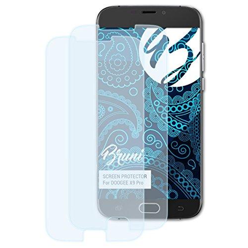 Bruni Schutzfolie kompatibel mit DOOGEE X9 Pro Folie, glasklare Bildschirmschutzfolie (2X)