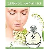 LIRIO DE LOS VALLES - Perfume (Parfum) de SANGADO para ella – spray 50ml + regalo especial: Corazón de cristal Swarovski®