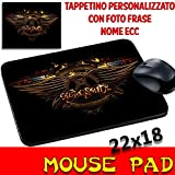 Best Mouse Pad 80s Musics - Personalised Mouse Pad Aerosmith – Groups Mouse Mat with Photo Review