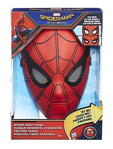 Hasbro Spider-Man B9695EU4 - Feature Maske, Verkleidung (Spider Man Masken)