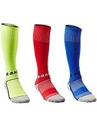 Calcetines de Fútbol para Niños Calcetas de Compresión Deportivas para  chicos Medias Largas de Soccer de b9d2efd5a6a