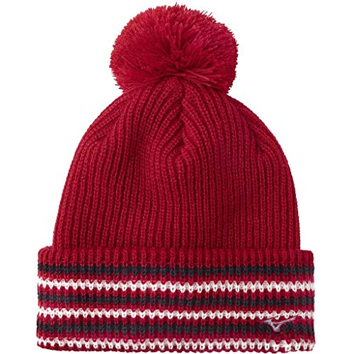 Mizuno Golf 2018 Chapeau de Golf Hiver Thermo Bobble Sports Homme Souffle Tango Red One Size