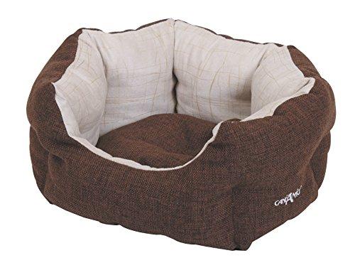 Bild: Hundebett Katzenbett oval Brownie 75 x 60 x 20 cm