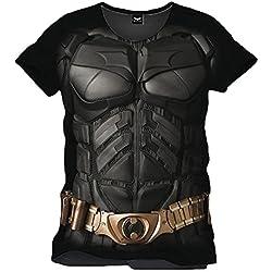 Batman - Camiseta - manga 3/4 - para hombre negro Medium