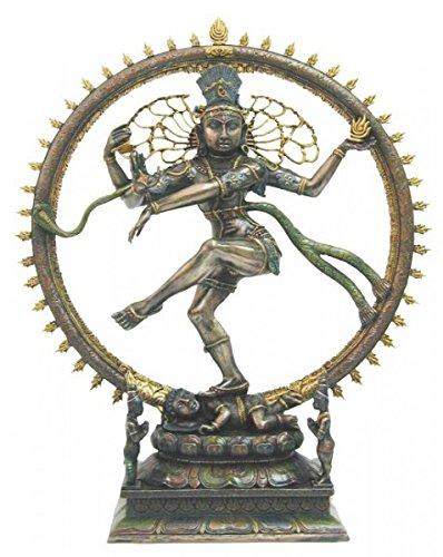 Indischer Gott des Tanzes Shiva Hinduismus Figur Indien