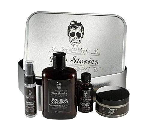 Estuche para la barba de Men Stories 4 productos