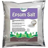 Creative Farmer Epsom Salt 1Kg Pure Organic - Magnesium Sulphate Plant Food Soil Manure