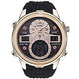 Blisfille Uhr Herren Wasserdicht Herrenuhr Multifunktional Gold Outdoor Sportuhr Armbanduhr Automatikuhr