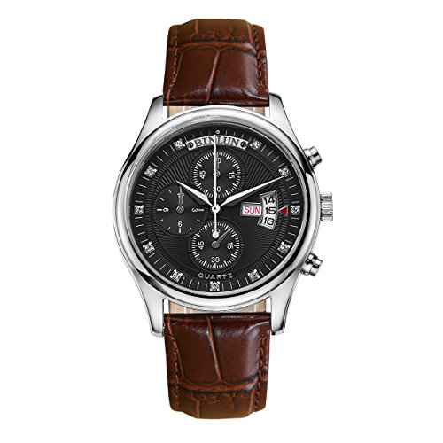 binlun-outdoor-versatile-column-wheel-chronograph-black-dial-brown-band-wristwatch-week-and-date-for