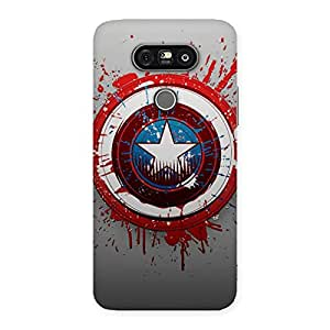 Cute Blood Red Round Back Case Cover for LG G5