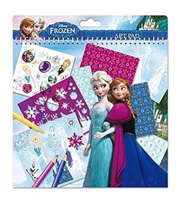 Disney Frozen Libro de Manualidades y Arte, 26x 24cm por Totum