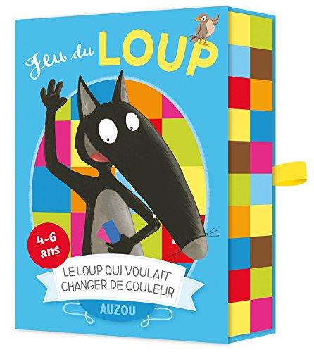 Cartes à jouer Auzou - jeu du Loup qui voulait changer de couleur par Eléonore Thullier