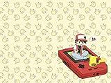Roonyete Shop Ashe–Pikachu Gameboy Tapis de Jeu 61x 35,6cm Tapis de Souris...