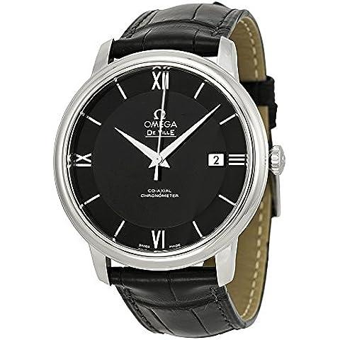Omega de Ville Prestige Co-axial reloj de los hombres 424,13,40,20,01,001