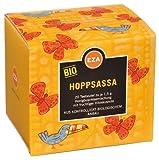 6x EZA - Bio Hoppsassa, Honigbuschtee mit Hibiskus