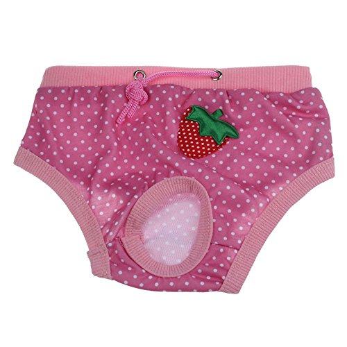 ♥ Loveso ♥ -Huastier Hunde 2017 Neue Weibliche Haustier Hund Physiologische Menstruationshygiene Hosen (S, Pink) (Mops Kostüme 2017)