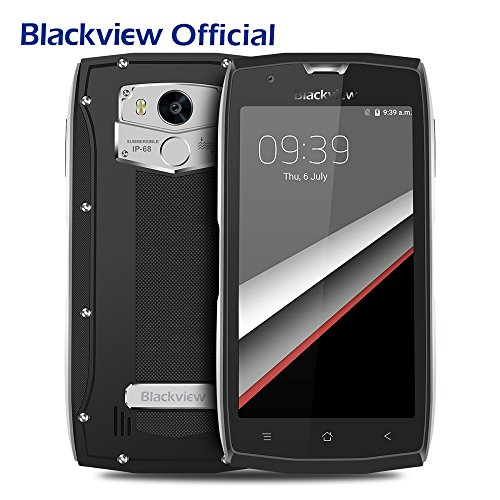 Outdoor Handy, Blackview BV7000 PRO IP68 Outdoor Smartphone 5.0 Zoll Android 6.0 4GB RAM + 64GB ROM Wasserdichte / Stoßfest / Staubdicht, MT6750T Octa Core 8MP +13MP Dual Kameras, 4G Dual SIM Dual Standby Mobile Phone
