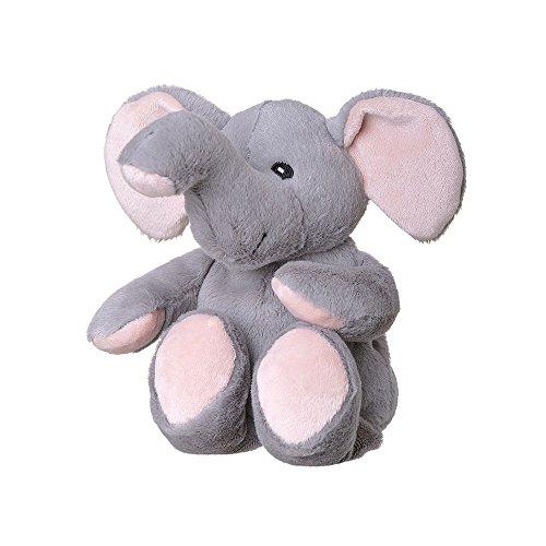 welliebellies Wärmekuscheltier für Kinder - Wärmekissen gegen Schmerzen und zum Wohlfühlen - Wohltuender Kräuterduft durch Rosmarin und Lavendel, Eukalyptus & Pfefferminz - klein (Elefant) (Lavendel Tier)