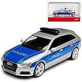alles-meine.de GmbH Audi A4 B9 Avant Kombi Polizei Rheinland Pfalz Ab 2015 H0 1/87 Herpa Modell Auto
