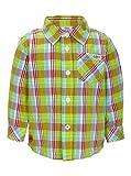 S.Oliver Baby - Jungen Hemd 65.403.21.5579, Kariert, Gr. 80, Grün (Green Check)
