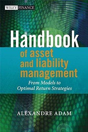 Handbook of Asset and Liability Management: From Models to Optimal Return Strategies by Alexandre Adam (2007-12-10) par Alexandre Adam;
