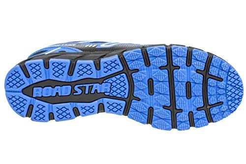 GIBRA® Sportschuhe, sehr leicht und bequem, schwarz/blau, Gr. 36-41 Schwarz/Blau