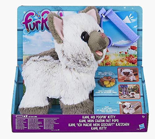 "Hasbro FurReal C1156EU4 - Kami, mein \""ich-muss-mal-Kätzchen\"" interaktives Plüschtier"