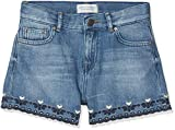 Scotch & Soda R´Belle High Waist Short-Marvelous, Fille, Bleu 2567, 140 (Taille Fabricant: 10)