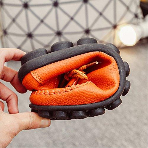 Gracosy Donna Scarpe Comfort Pompe Basse Pelle Tacco Basso Sandali Singoli Pattini Casuali Comfort Pompe Espadrillas Scarpe Mocassini da Donna Slip On Loafer Scarpe da Barca Marrone