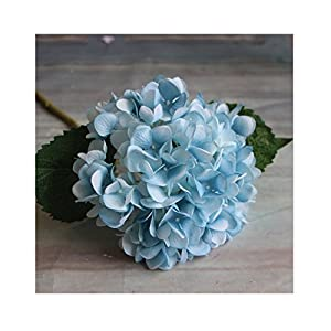 IHRKleid Flor artificial (Hortensia), decoración para boda, 10, 47cm