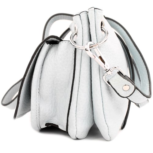 Borsa a sacchetto donna borsa in finta pelle in finta pelle donna LK138065 Hellblau