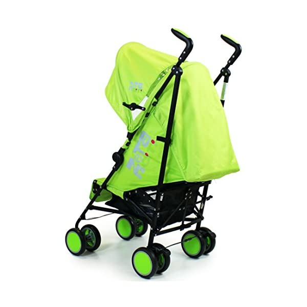 Zeta Citi Stroller Buggy Pushchair - Lime ZETA 12 Month FREE Warranty When Purchased and used from birth only. Warranty VOID If Purchased And Used For Babys Over 12 Months Lightweight stroller suitable for babies from Birth Umbrella fold for a compact folded size 5