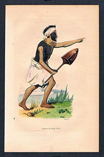 Tonga Polynesien Polynesia Asien Asia costumes Trachten antique print