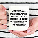 Betsy34Sophia Programmierer-Becher EIN Programmierer ist einfach Becher Programmierer Geschenke Geschenkideen f¨¹r Programmierer Geschenk f¨¹r Programmierer Kaffeetasse Programmierer Cup
