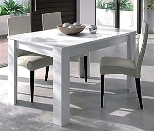 Habitdesign tavolo da pranzo allungabile da 140 a 190 cm misure chiuso 90 di larghezza x 140 - Tavolo da pranzo misure ...