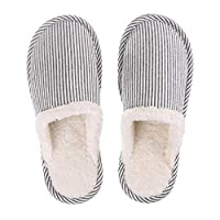 Ainstsk 1 Pair Home Indoor Couple Slippers,Women