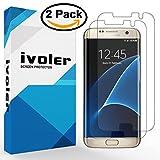 [Versione Nuovo] Galaxy S7 Edge Pellicola Protettiva, iVoler® [2 Pack] Bordo a Bordo 3D Curvo Copertura Completa [liquido Installazione] [Resistente ai graffi] [HD Trasparente] TPU Pellicole Morbide per Samsung Galaxy S7 Edge - Garanzia a vita