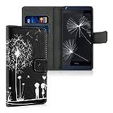 kwmobile HTC Desire 626G Hülle - Kunstleder Wallet Case für HTC Desire 626G mit Kartenfächern und Stand