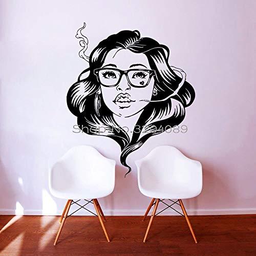 zqyjhkou 3D Wandtattoos Mädchen Whiteboard Aufkleber Für Mode Schöne Dekoration Wohnzimmer Schlafzimmer Kunst Wandbilder Yy499 56x72 cm