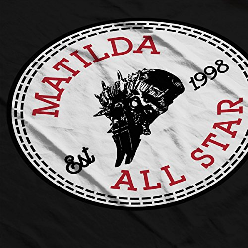 Robot Wars Matilda All Star Converse Women's Hooded Sweatshirt Black