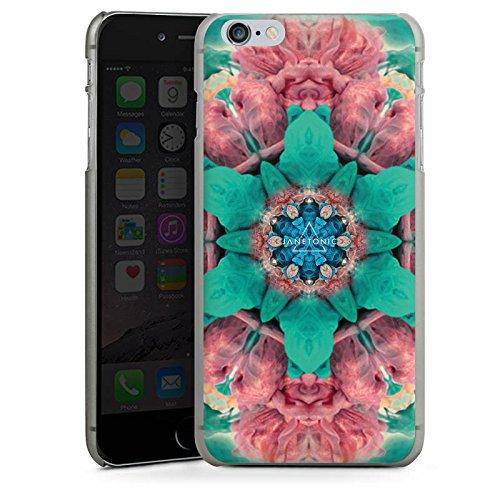 Apple iPhone X Silikon Hülle Case Schutzhülle Batik 360 Grad Abstrakt Hard Case anthrazit-klar