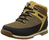 Timberland Unisex Kinder Euro Sprint Fabric Chukka Boots, Gelb (Wheat 231), 34 EU